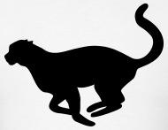 190x147 Running Cheetah Silhouette By Azza1070 Spreadshirt
