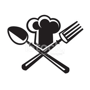 300x300 Chef Hat With Spoon And Fork Premium Clipart