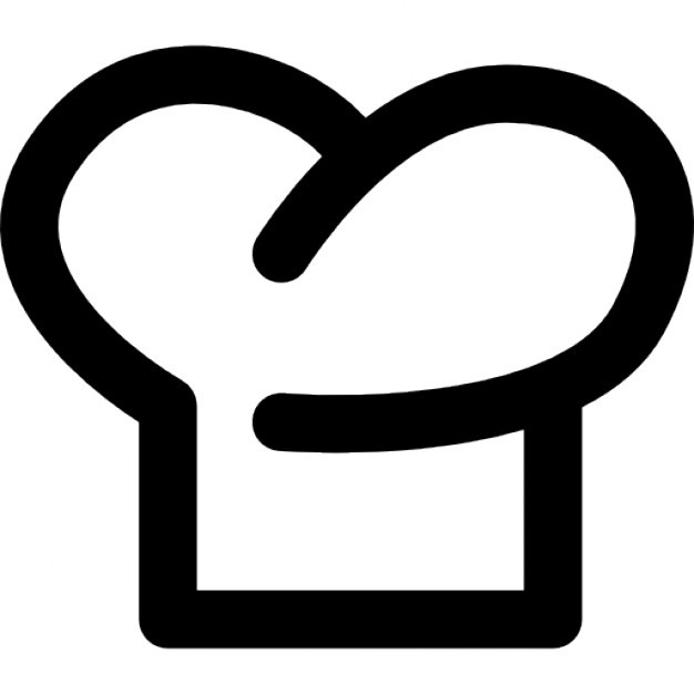 626x626 Chef Hat Outline Symbol Icons Free Download