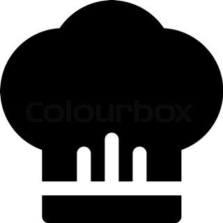 320x320 Kitchen Tool Icons On Chef Hat Concept Can Be Used