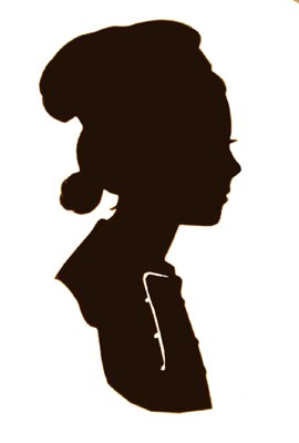 270x400 Silhouette Art A Classical Silhouette From The Wedding. A Cameo