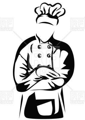 283x400 Chef With Folded Arms