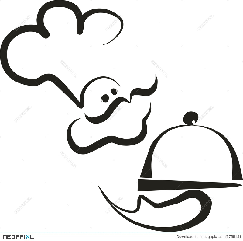 800x792 Chef Silhouette 2 Illustration 8755131