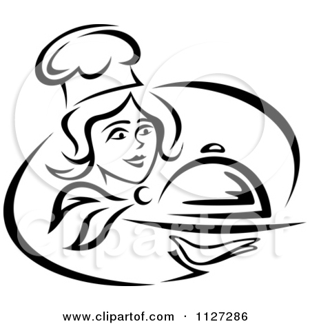 Chef Silhouette Free Vector