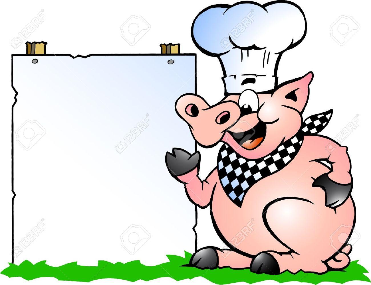 1300x1000 Pig Roast Free Clipart