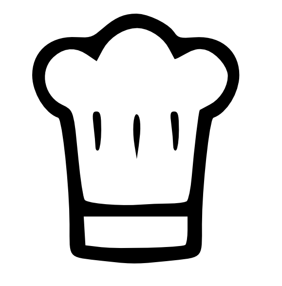 579x587 Chef's Hat Or Toque Svg Svg File, Cricut And Dolls