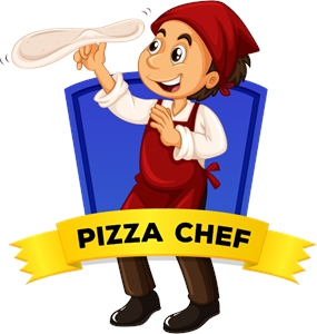 285x300 Pizza Chef Logo Vector (.eps) Free Download