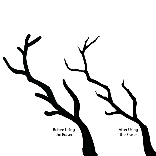 600x600 Cherry Tree Branch Silhouette