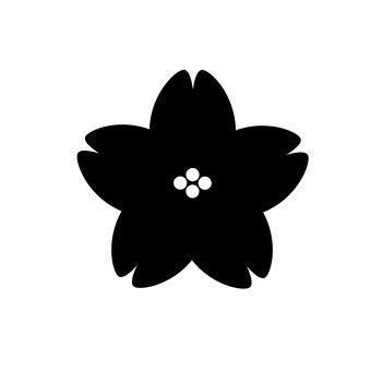 340x340 Free Silhouette Vector April, Cute, Flower