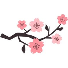 236x236 Cherry Blossom Branch