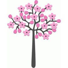 236x236 Branch Of Cherry Tree Vector 746959