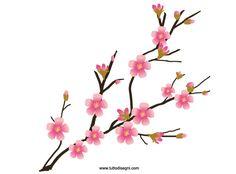 236x174 Cherry Blossom Tree Clip Art Tree Branch Vector Free Vector