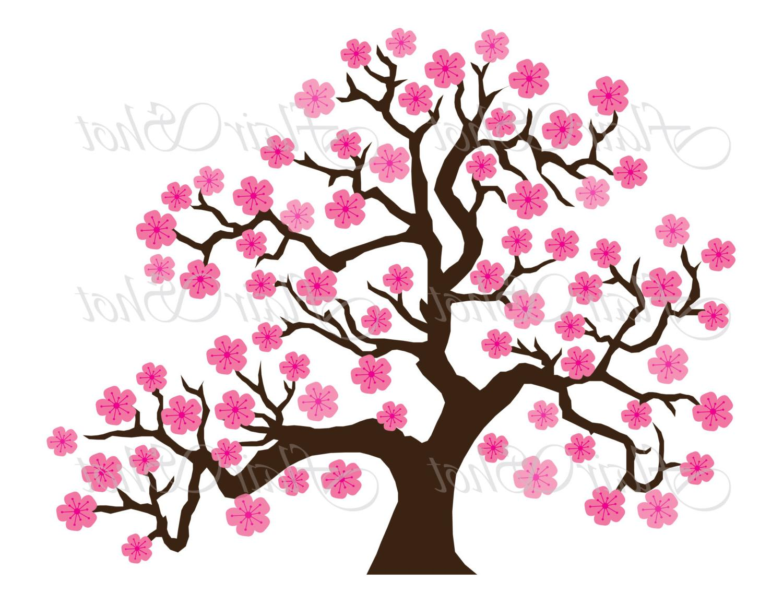 1500x1159 Cherry Tree Clipart Flowering Tree