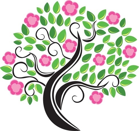 487x461 Cherry Blossom Tree Silhouette Free Vector Download (10,534 Free