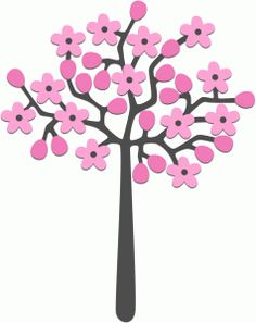 236x297 Cute Pink Spring Tree Clipart Trees Tree Clipart