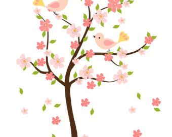340x270 Spring Cherry Blosson Clip Art