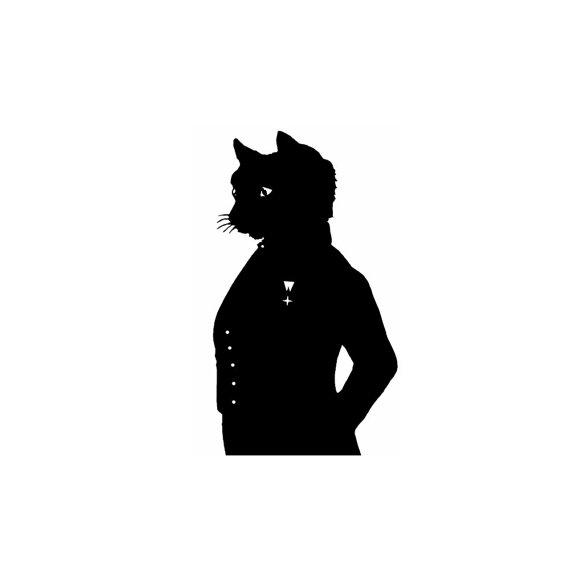570x570 The Cheshire Cat Alice In Wonderland Silhouette Print Black