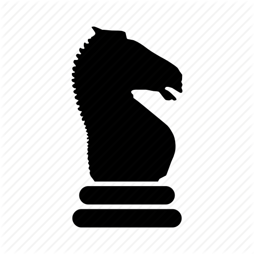 512x512 Board Game, Chess, Game, Horse, Knight, Strategy Icon Icon
