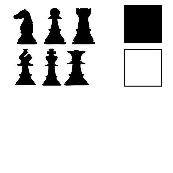 Chess Piece Silhouette at GetDrawings com | Free for