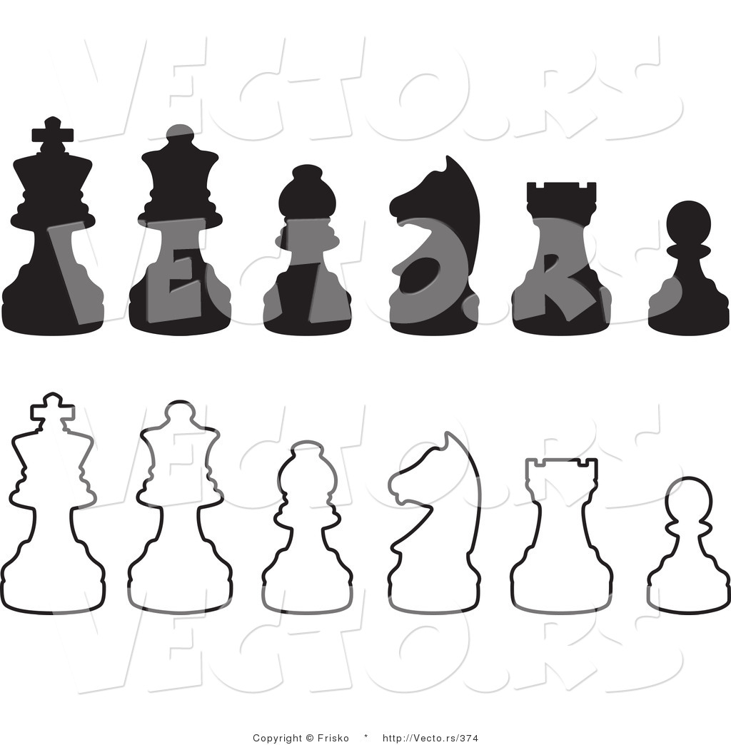 Chess Piece Silhouette at GetDrawings com | Free for personal use