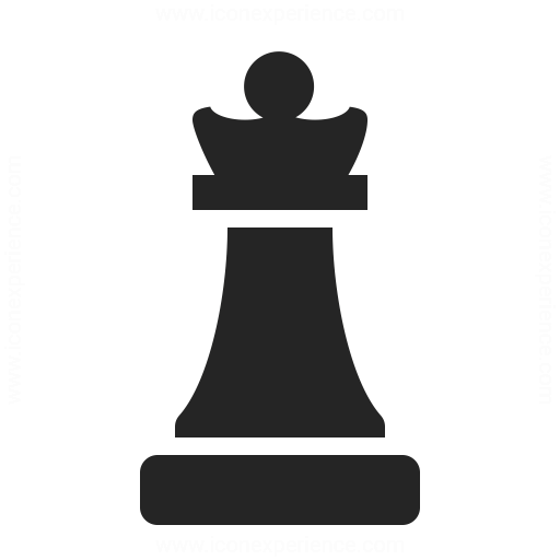 512x512 Chess Piece Queen Icon Iconexperience