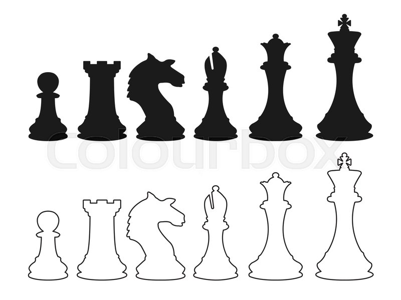 800x599 List Of Synonyms And Antonyms Of The Word Chess Silhouette