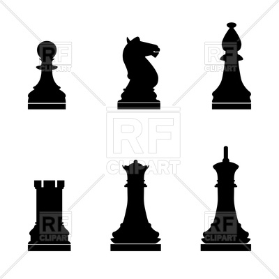 400x400 Set Of Chess Pieces