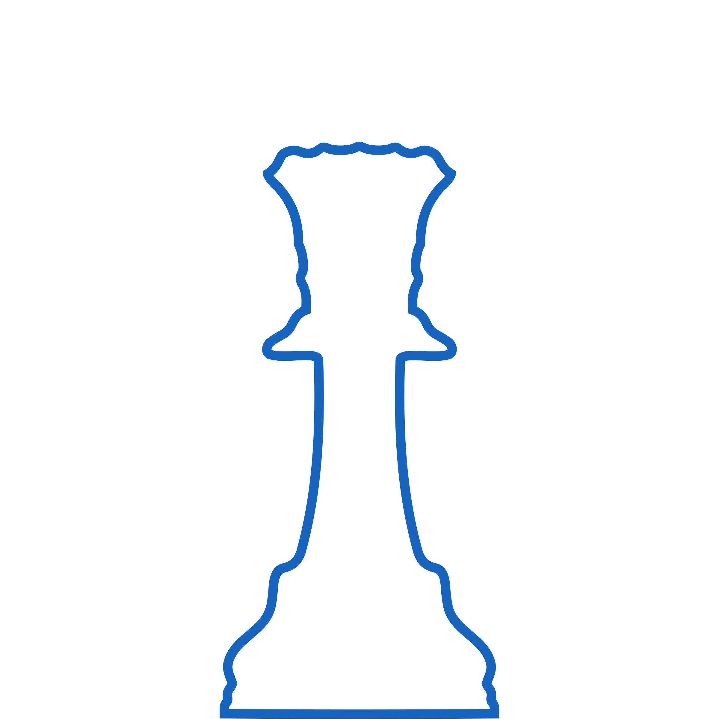 2400x2400 White Silhouette Staunton Chess Piece Queen Dama Icons Png