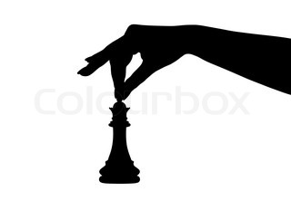 320x222 Beautiful Chess Pieces Made In The Form Of Silhouettes Of Armed