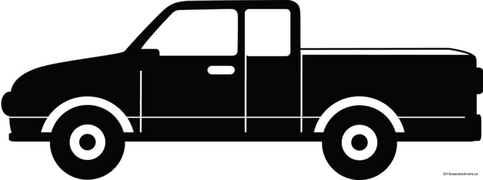 980x367 Images Pickup Truck Vector Truck Clipart Vector Pencil And