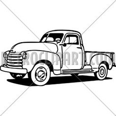 Chevy Truck Silhouette at GetDrawings com | Free for