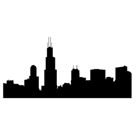 270x270 Chicago Skyline Stencil Free Stencil Gallery