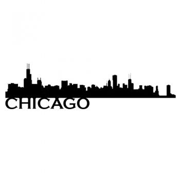 350x350 Chicago Skyline Vinyl Application To Ensure A Skyline View No