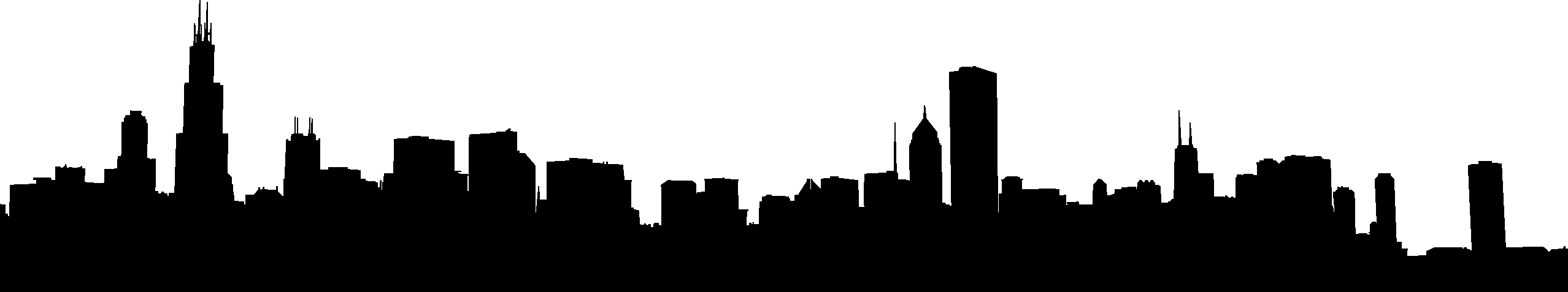 chicago city skyline silhouette at getdrawings com free for