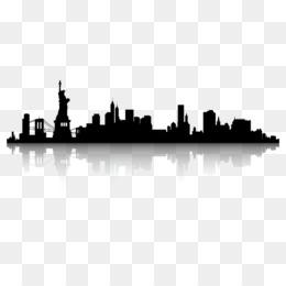 260x260 Skyline Cityscape Silhouette