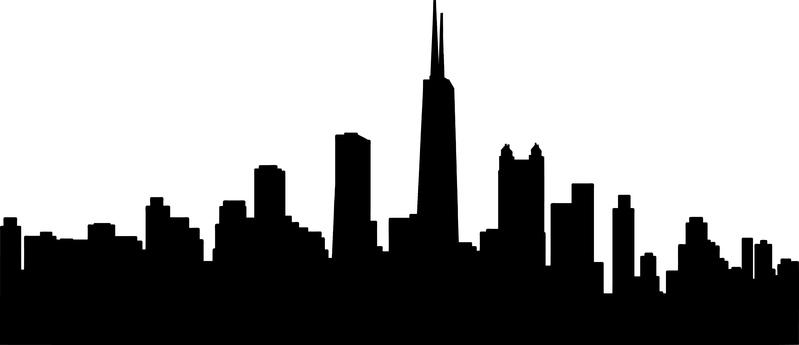 799x345 Free Chicago City Skyline 4 Stock Photo