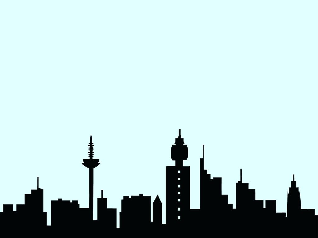 1024x767 Chicago Skyline Coloring Page