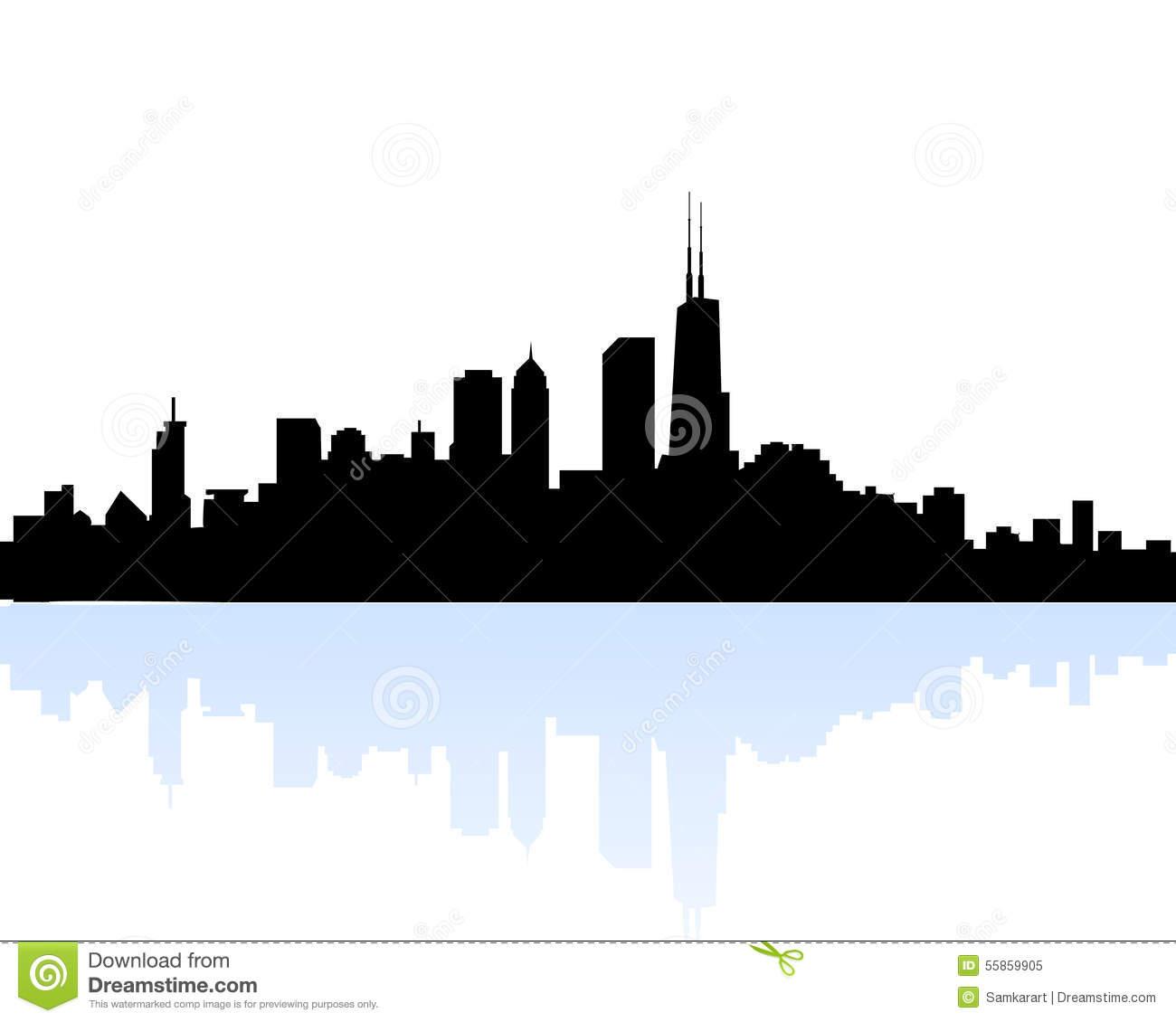 1300x1130 Skyline Clipart Chicago