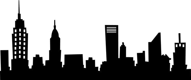 736x309 Image Of City Skyline Clipart New York City Skyline Clip