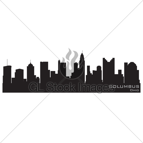 500x500 Free Chicago Skyline Silhouette Clipart