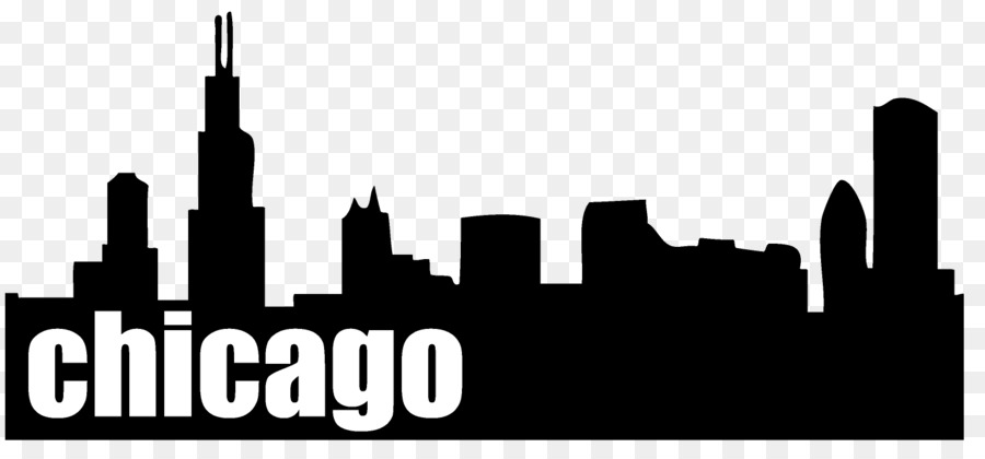 chicago skyline silhouette free at getdrawings com free for rh getdrawings com chicago skyline black and white clipart Chicago Bean