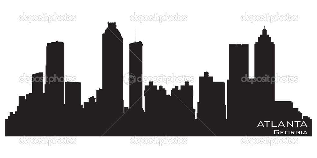 Chicago Skyline Silhouette Vector