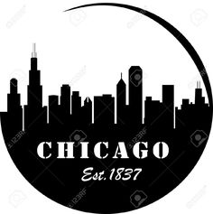 236x237 Chicago Skyline Silhouette Favorite Places Amp Spaces