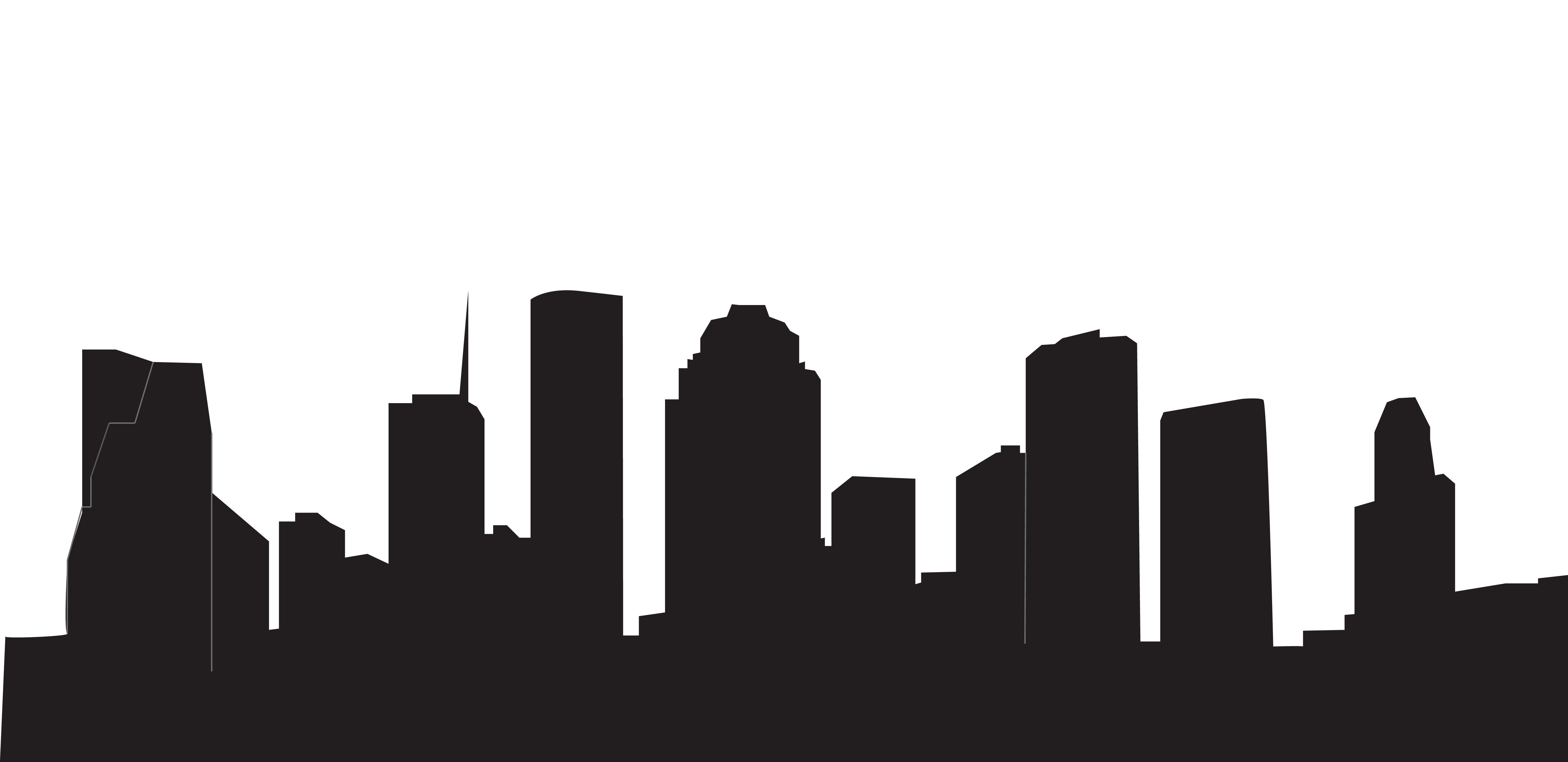5246x2548 Houston Skyline Black And White New Year's Dance