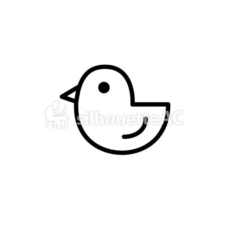 750x750 Free Silhouettes Toy, Tiny, Chick, Icon