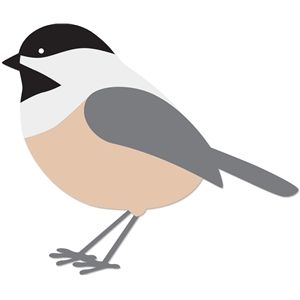 300x300 Chickadee Silhouette Design, Silhouettes And Store