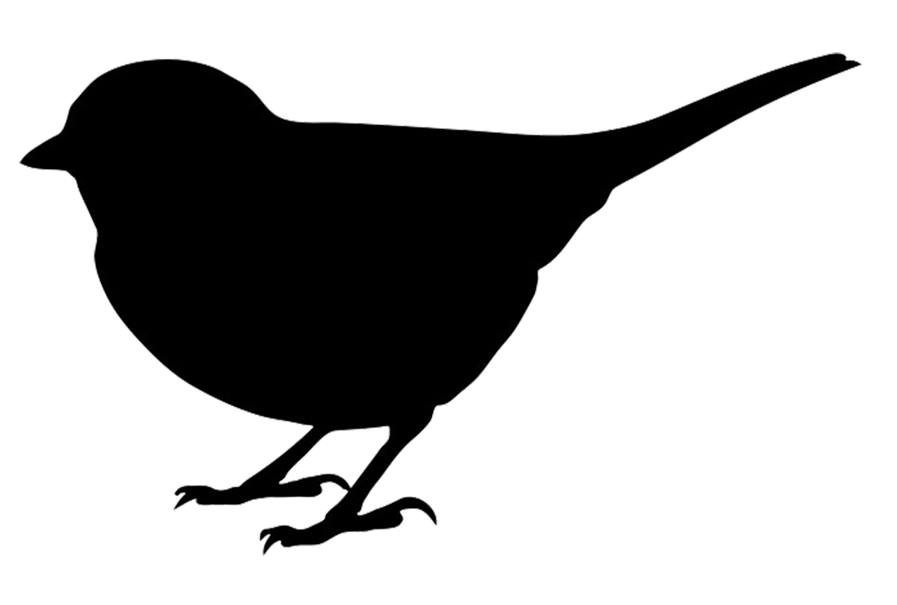 chickadee silhouette at getdrawings com free for personal use rh getdrawings com chickadee clip art free
