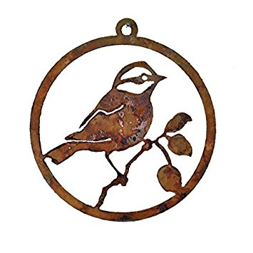 355x355 Black Capped Chickadee Silhouette For Outdoors Amazon.ca Patio