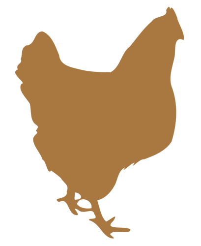 Chicken Silhouette Clip Art