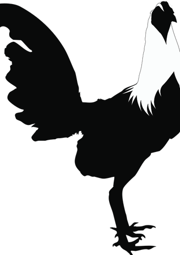 Chicken Silhouette Clipart